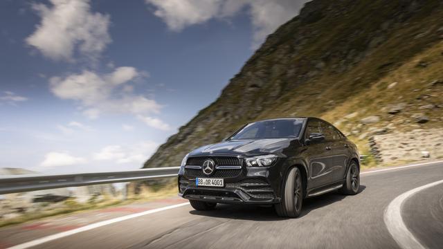 Erste Mitfahrt im Mercedes GLE Coupé - Schwergewicht in Schräglage