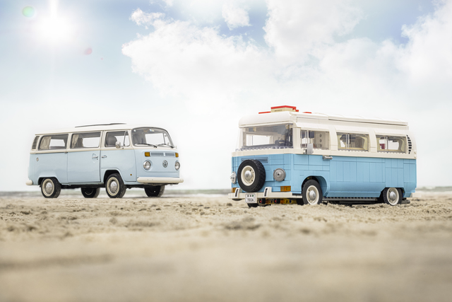 VW T2 Campingbus von Lego - Kultkasten für Detailverliebte