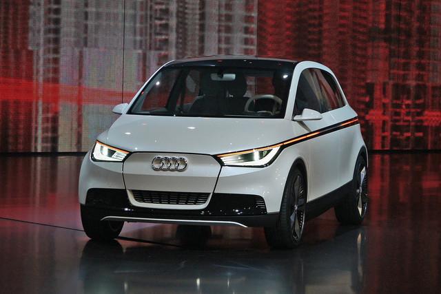 Audi A2 - Deutlich größer