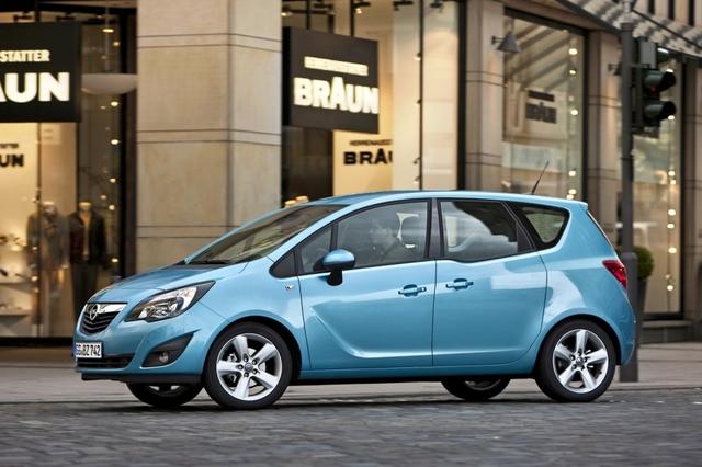 Leistung für die Familie: Opel Meriva mit erweitertem Motorenprogramm
