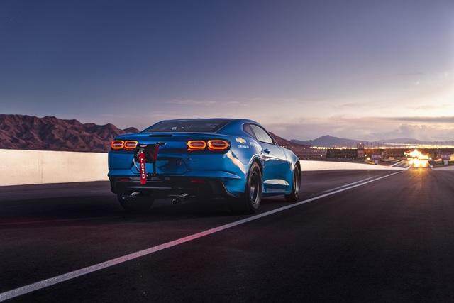 Chevrolet eCopo Camaro Concept  - Dragstrip unter Strom