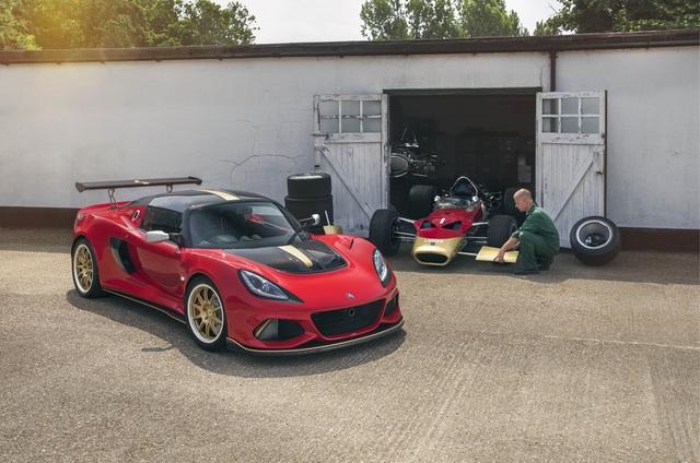 Lotus Exige Type 49 und 79  - Jubiläum in Goodwood