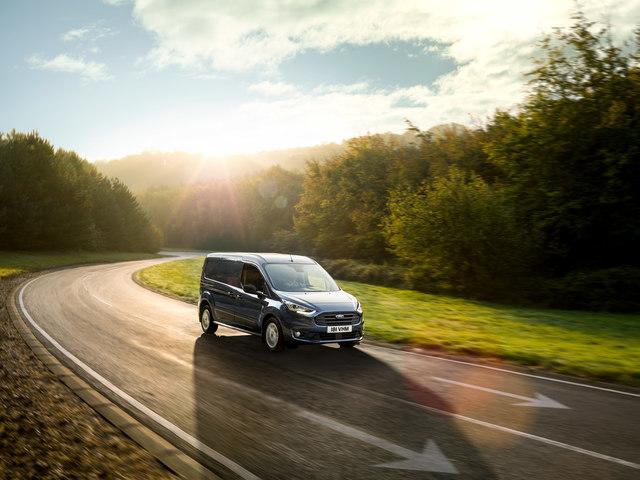 Ford-Kleintransporter  - Lifting mit neuen Antrieben