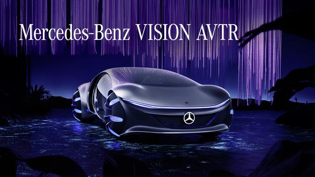 Studie: Mercedes Vision AVTR - Seiner Zeit zwei Jahrzehnte voraus