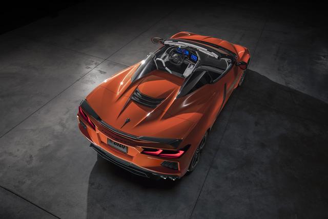 Chevrolet Corvette Convertible - Klappen statt falten