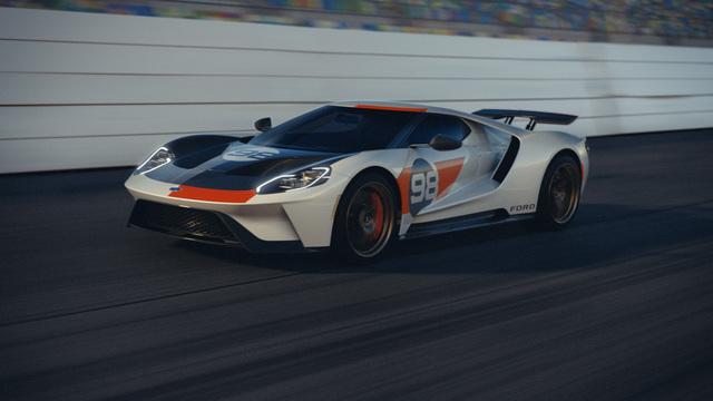 Ford GT Heritage Edition - Weg von Le Mans