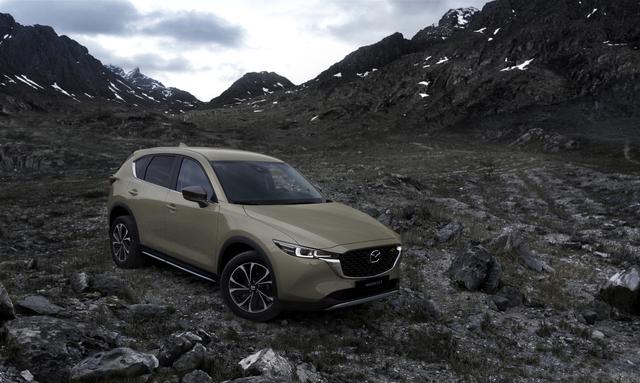 Mazda CX-5 2022  - Zum neuen Modelljahr anpassbar