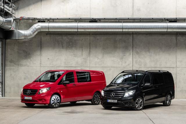 Mercedes Vito - Neue Motoren und ein wenig Kosmetik
