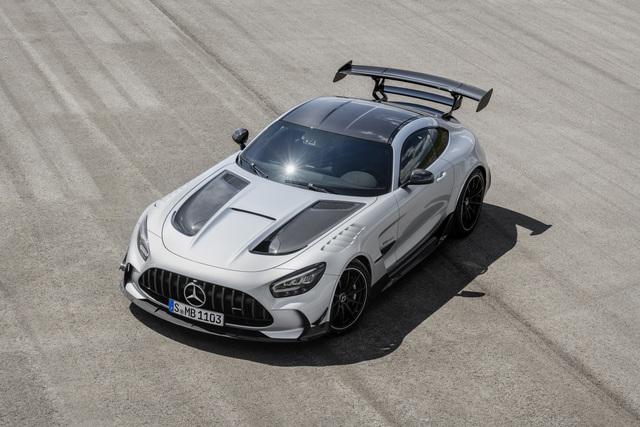 Mercedes AMG GT Black Series  - Mächtig stark