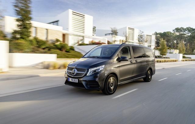 Mercedes V-Klasse Airmatic - Ringen um Lufthoheit
