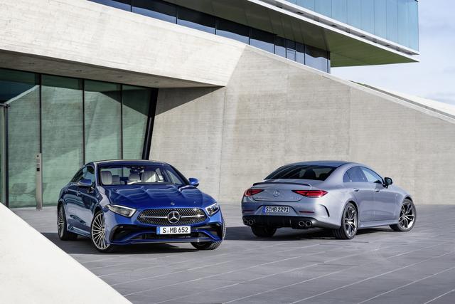 Mercedes CLS Facelift - Sommerfrische
