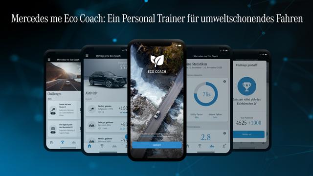 Mercedes-App für E-Fahrzeuge - Öfter Strom laden, um CO2 zu sparen