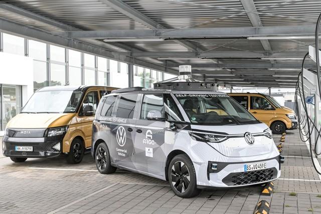 Autonomes Ridepooling - VW startet 2025 mit Robo-Fahrdienst
