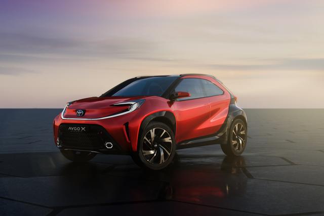 Toyota Aygo X Prologue   - Crossover im Kleinen