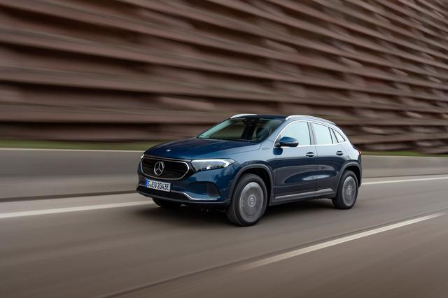 Mercedes EQA - Mehr Auswahl