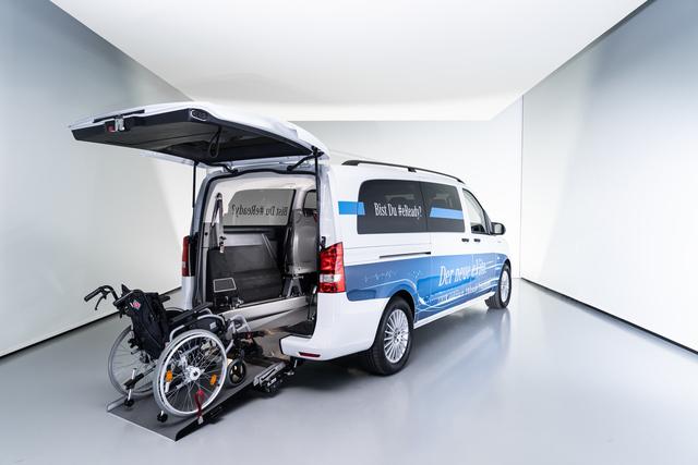 Mercedes-Benz eVito - Rollstuhlgerecht und elektrisch