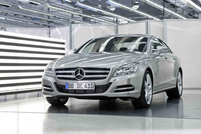Mercedes-Benz CLS: Der neue Beau aus Stuttgart-Sindelfingen