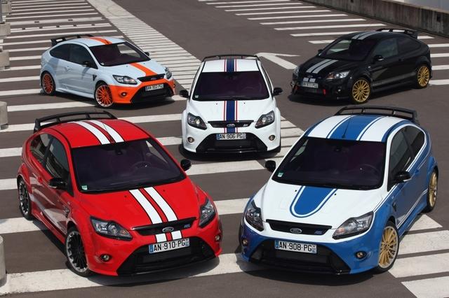 Ford Focus RS: Hommage an die Langstreckenrennen-Historie