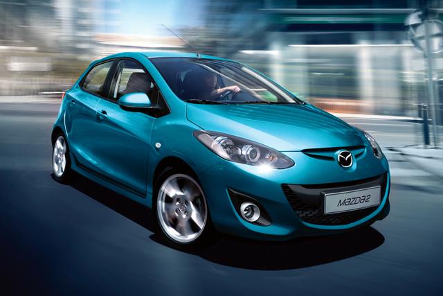 Bitte recht freundlich - Mazda2 mit neuem Gesicht