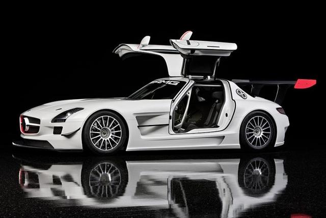 Mercedes SLS AMG GT3: Variante für den Kundensport