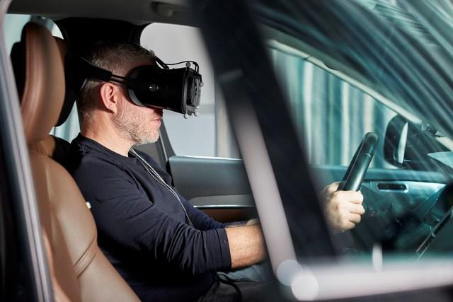 Volvos Mixed Reality - Simulation in der echten Welt