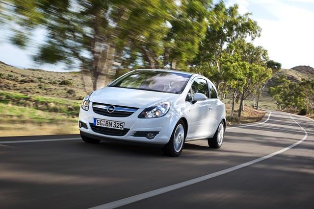 Opel Corsa - Diesel-Verbrauch gesenkt