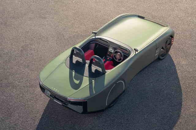 Elektroauto-Konzept Aura  - Futuristische Flunder