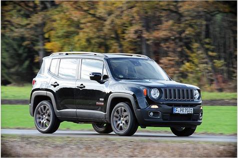Kernige Geburtstagsgrüße: Test Jeep Renegade 2.0l Multijet 75th Anniversary Edition mit technischen Daten und Preisen