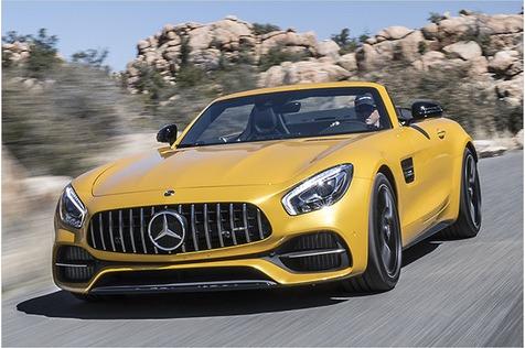 Krachterrasse: Test Mercedes-AMG GT C Roadster mit technischen Daten, Preis und 0-100 km/h-Zeit