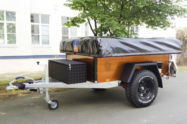 Camping-Anhänger - Huckepack-Hotel für die Wildnis