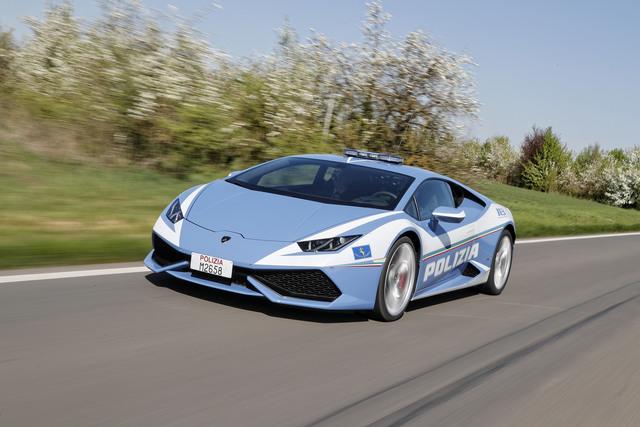 Lamborghini Huracán für italienische Polizei - Schneller als die Polizia erlaubt?