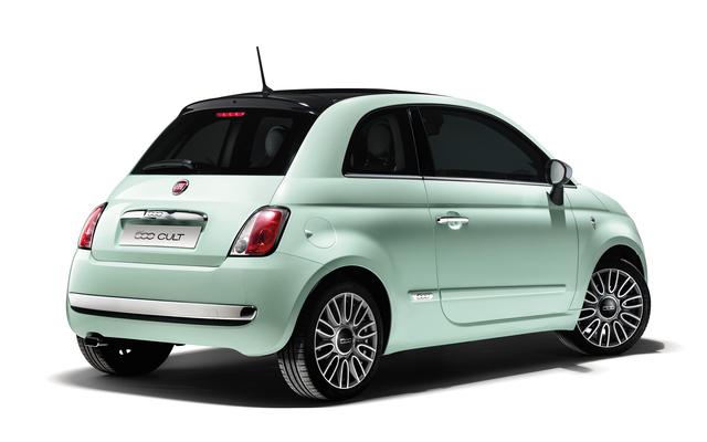 Fiat 500 Cult - Mit Quasi-Vollausstattung und Digital-Tacho