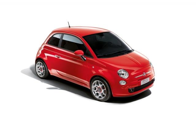 """Rot und rassig: Fiat 500 in Rennsportfarbe """"Rosso Corsa"""""""