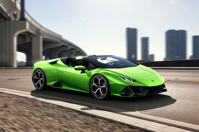 Lamborghini Huracán Evo Spyder - Performante-Performance