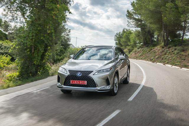 Fahrbericht: Lexus RX 450h Facelift - Nichts für Hektiker