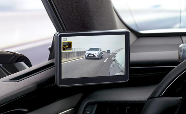Lexus ES 300 h - Kameras statt Außenspiegel