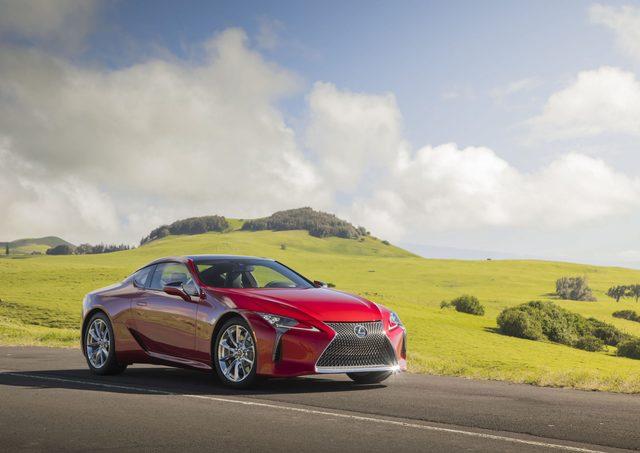 Lexus LC - Mehr Dynamik für das neue Modelljahr