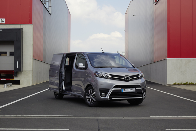 Toyota Proace Electric   - Sauber auf die letzte Meile