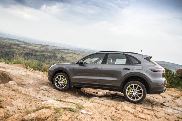 Porsche-Erprobung in Südafrika  - Letzter Schliff am neuen Hybrid-Cayenne