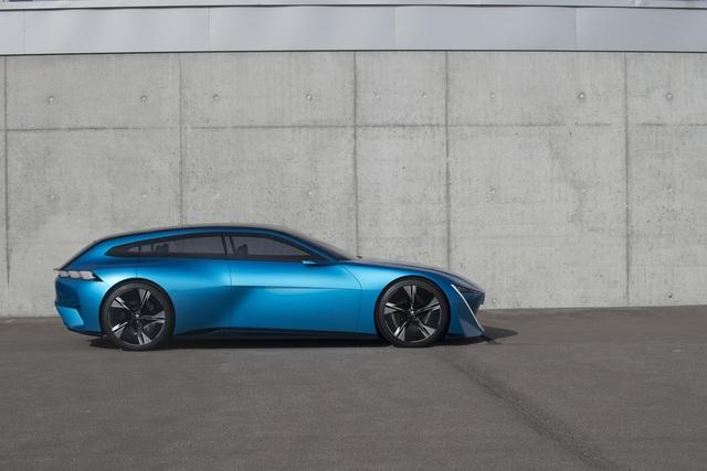Peugeot Instinct Concept   - Vernetzt und autonom in die Zukunft