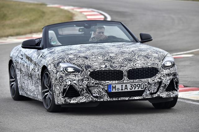 Fahrt im BMW Z4 Prototyp - Zurück zu den Wurzeln