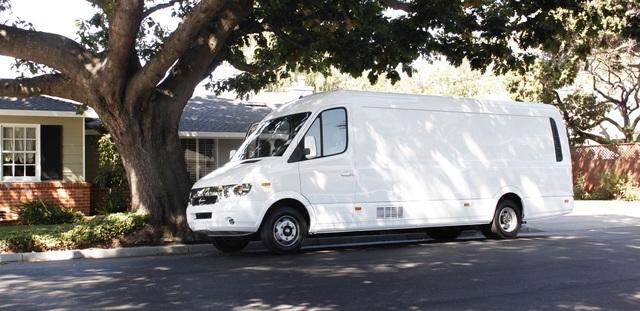 Chanje V8070  - Elektrischer US-Lieferwagen mit chinesischer Hilfe