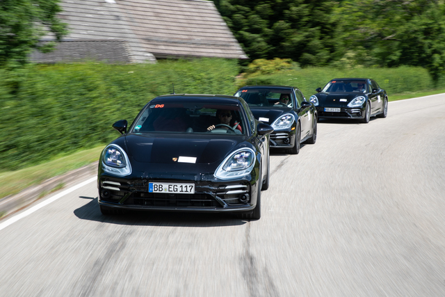 Erprobungsfahrt: Porsche Panamera - Spagat im Smoking
