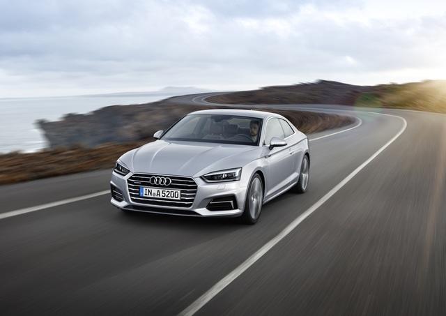 Weltpremiere: Audi A5 Coupé - Gleich erkannt