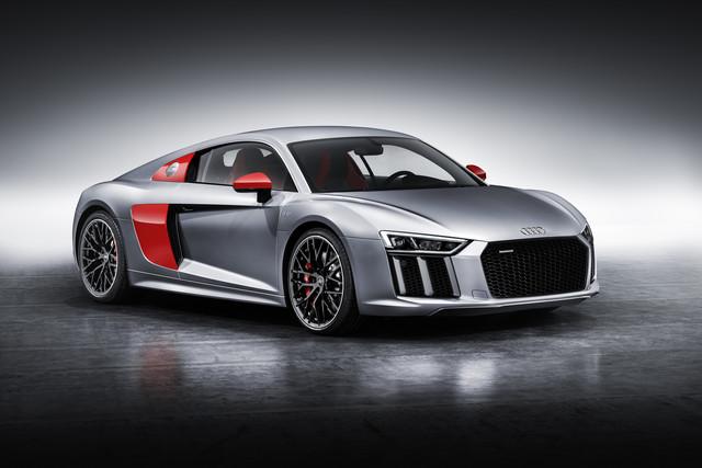 """Audi R8 als """"Edition Audi Sport""""   - Selten und bunt"""