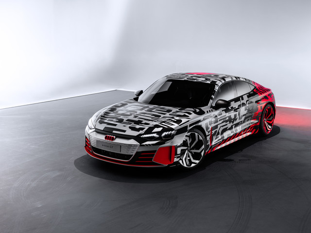 Audi E-Tron GT Concept  - Porsches Bruder