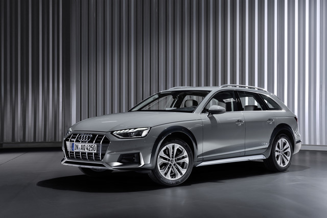 Audi A4 Facelift - Hin zum Lichte
