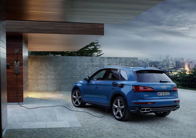 Audi Q5 TFSI E Quattro - Stromanschluss für die SUV-Mittelklasse