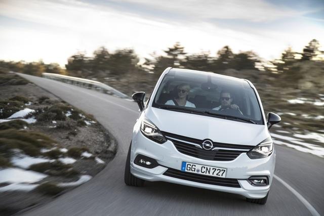 Opel Zafira - Großes Augenlifting