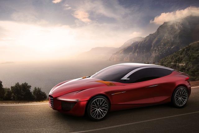 Alfa Romeo Gloria IED - Klassisch kombiniertes Konzept